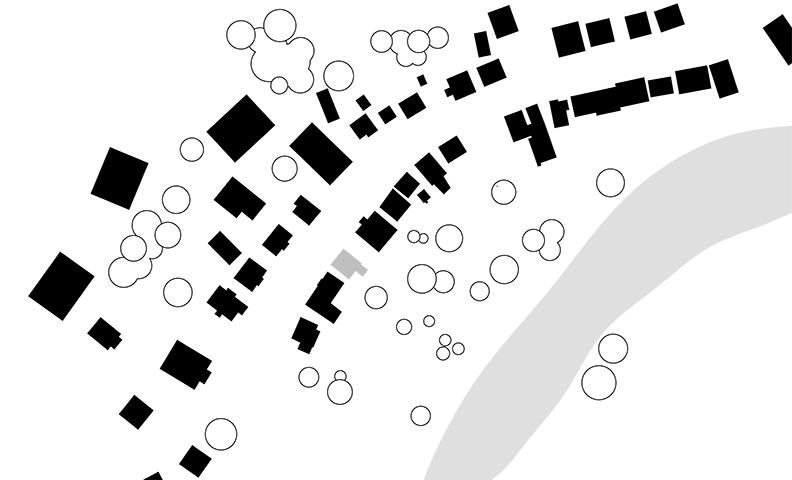 Schwarzplan Estedeich