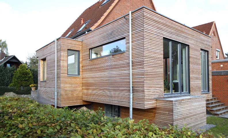 FKW80, Teilsanierung und Erweiterung eines Siedlungshauses, 2009-2010, realisiert