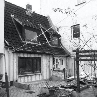 GBS41, Sanierung eines Ganghauses in der Lübecker Altstadt, 2015-2016, realisiert