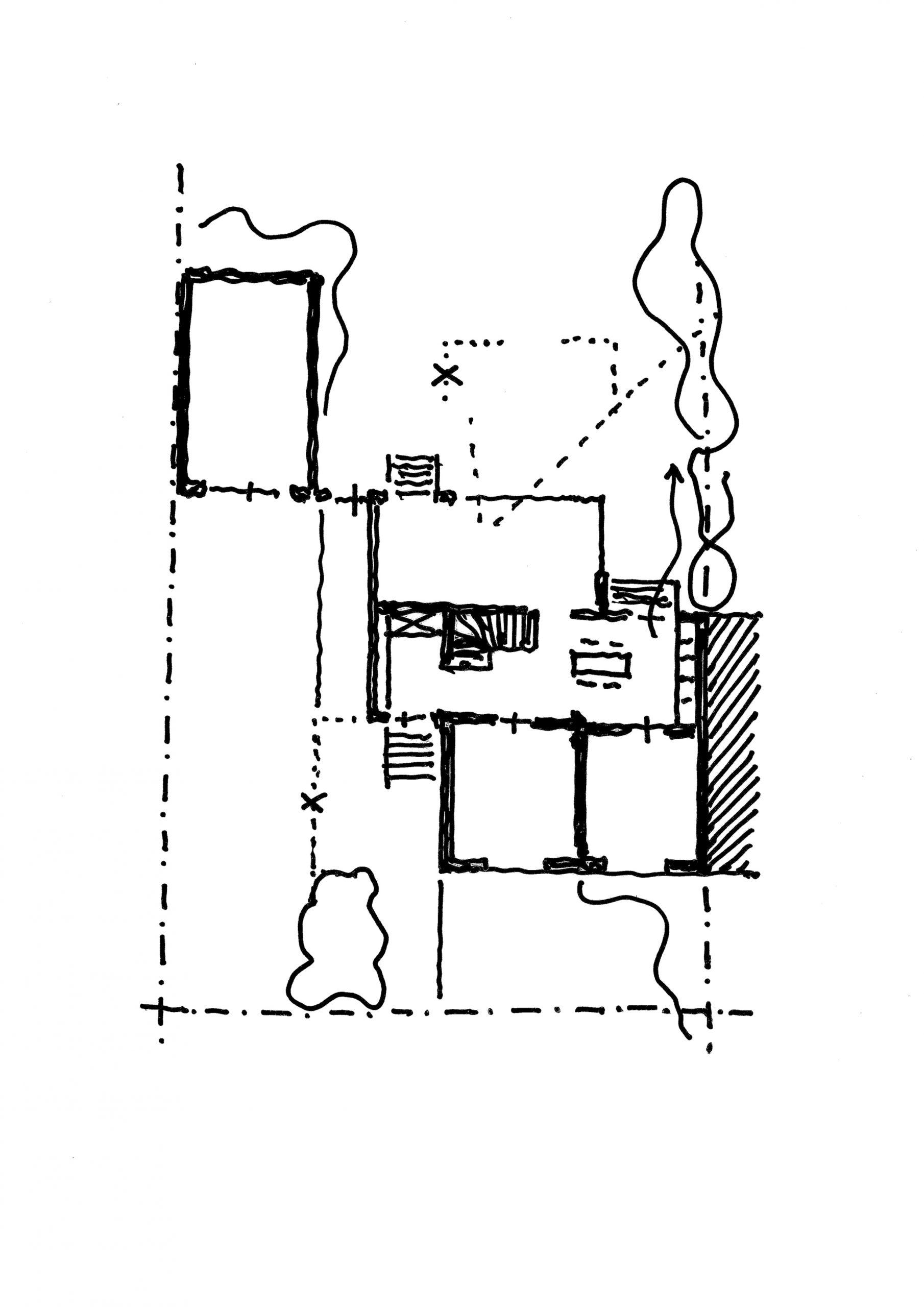 AP49, Sanierung und Umbau eines Siedlungshauses, 2014, unrealisiert