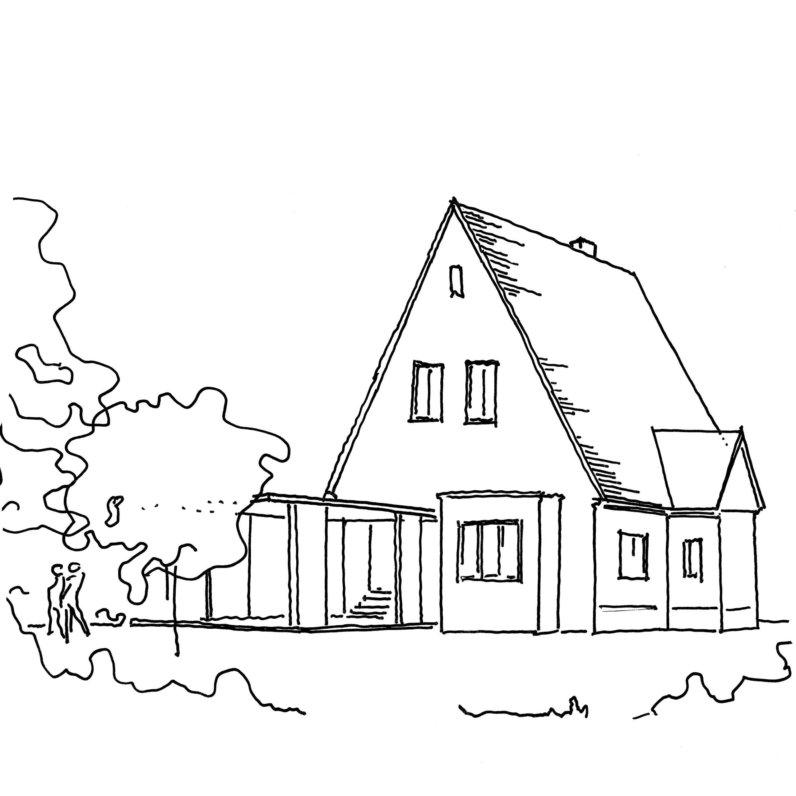 BW39, Erweiterung eines Siedlungshauses aus den 30er Jahren, 2011-2013, unrealisiert