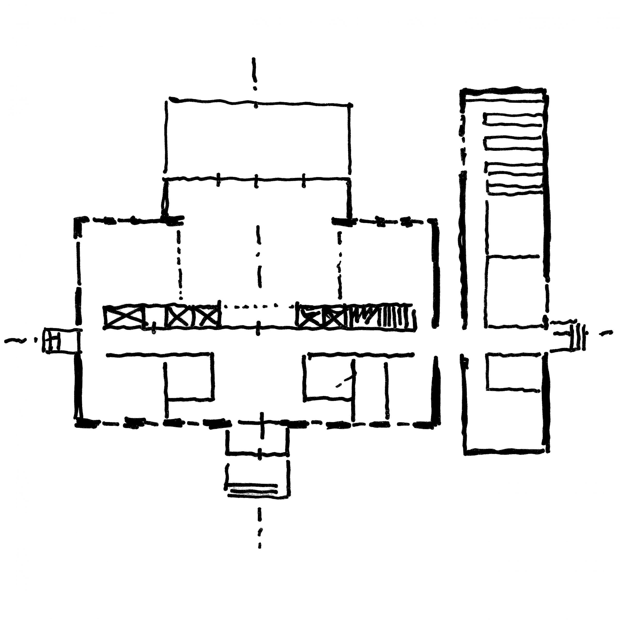SB, Neues Pastorat Büchen, Sanierung und Erweiterung eines Pastorats, 2012, unrealisiert