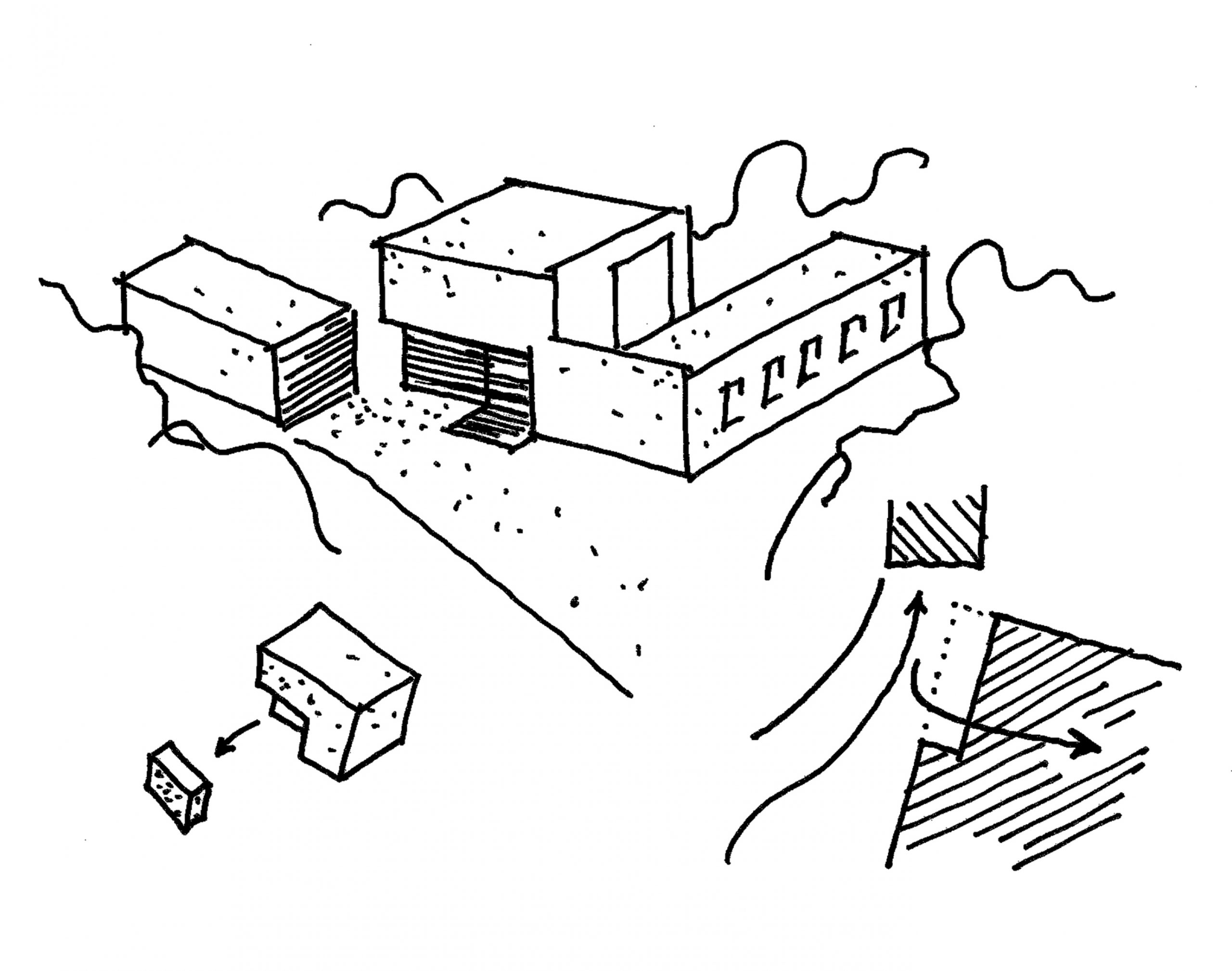SN3, Neubau eines Wohnhauses, 2014, unrealisiert