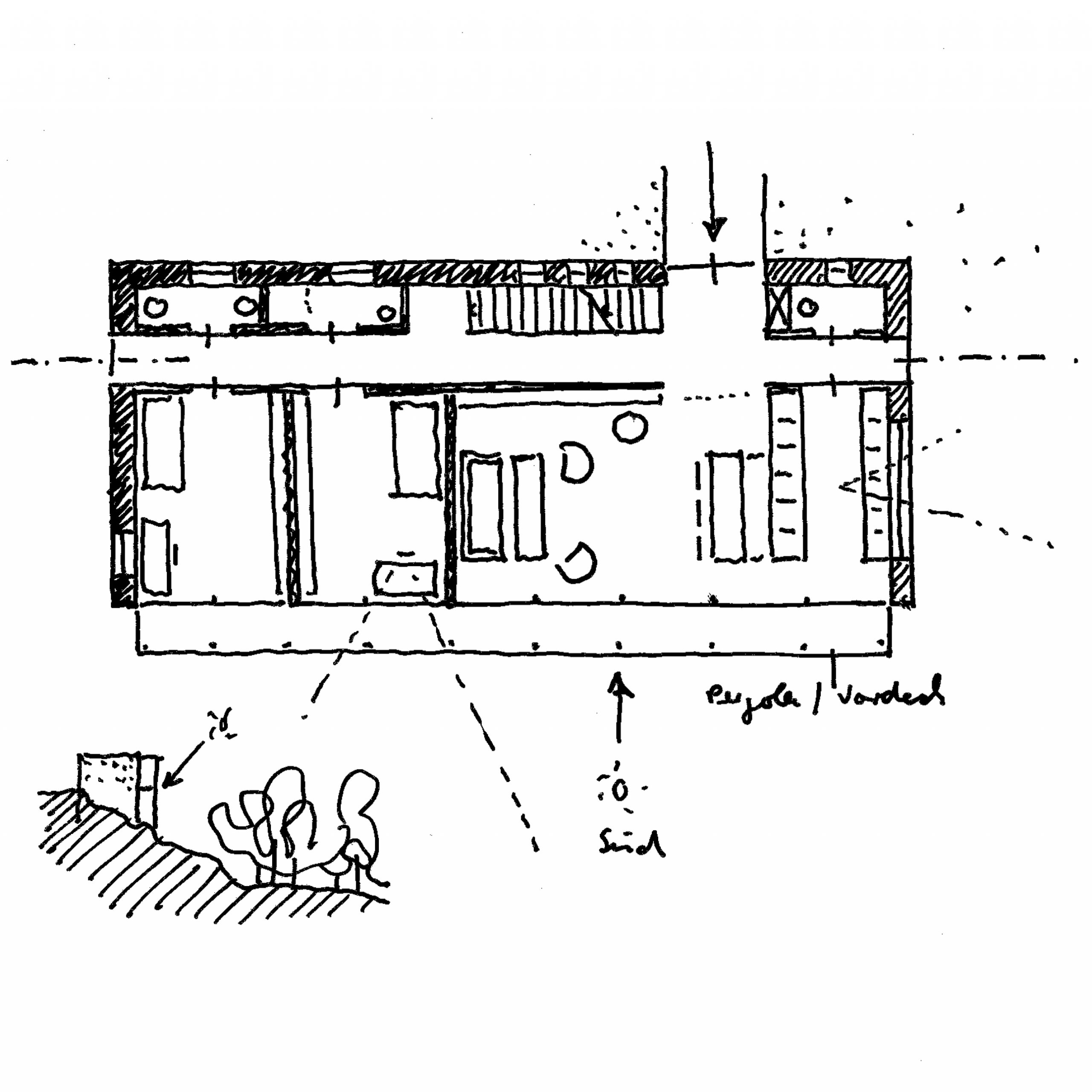 HK21, Neubau eines Wohnhauses, 2014, unrealisiert