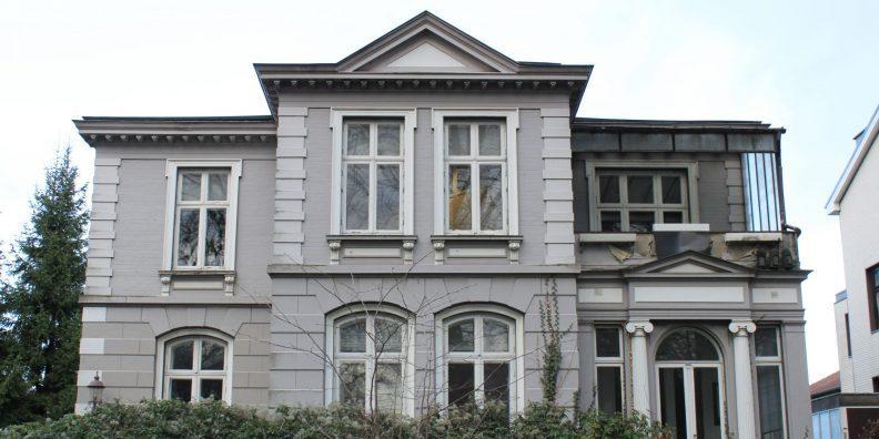 RS7, Sanierung und Umnutzung einer Gründerzeitvilla, ab 2021, im Bau