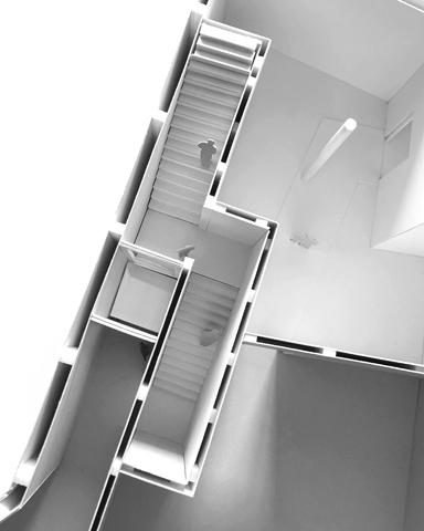 Treppe Draufsicht