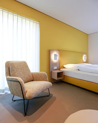 Zimmer gelb